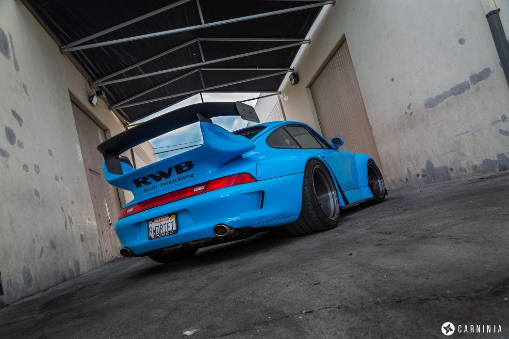 Rwb Porsche 993 Coupe Cars Body Kit Tuning Wallpaper