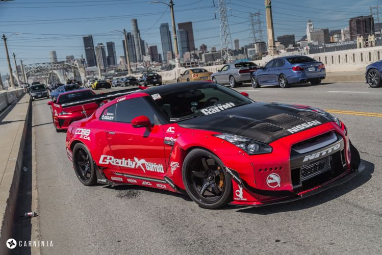 nissan gtr body kit coupe cars wallpaper