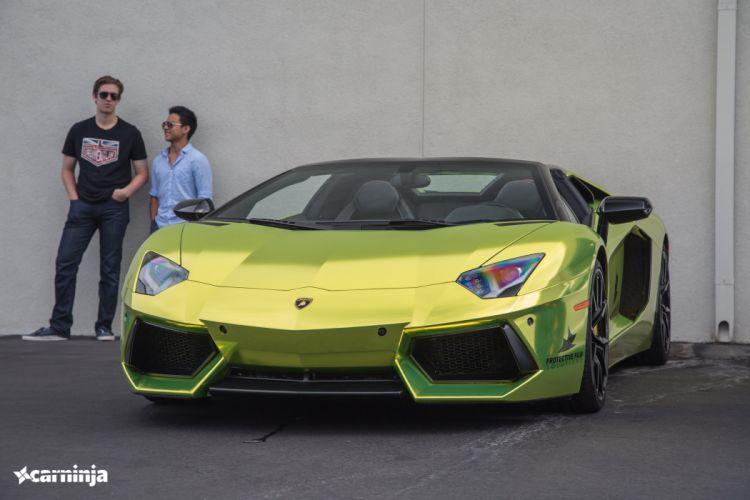 Aventador Lamborghini Supercar supercars cars wrapping chrome wallpaper