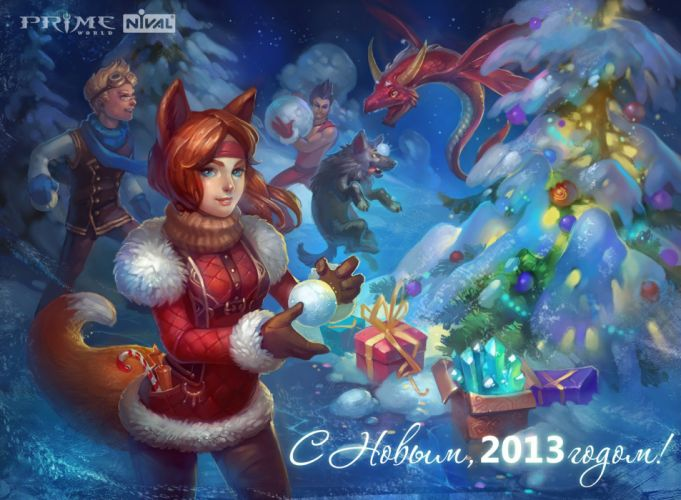 PRIME WORLD fantasy mmo rpg online action fighting adventure arena tower defense strategy 1primew warrior sci-fi poster christmas wallpaper