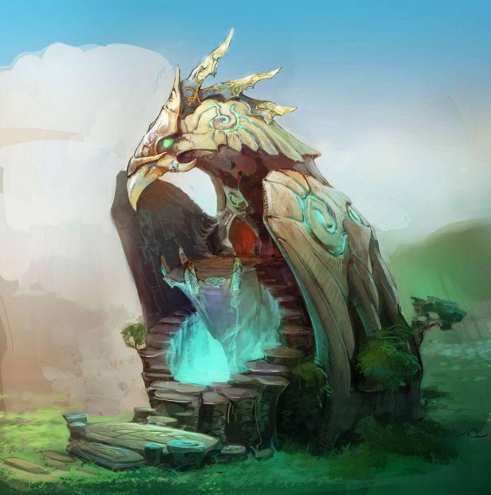 PRIME WORLD fantasy mmo rpg online action fighting adventure arena tower defense strategy 1primew warrior sci-fi magic wallpaper