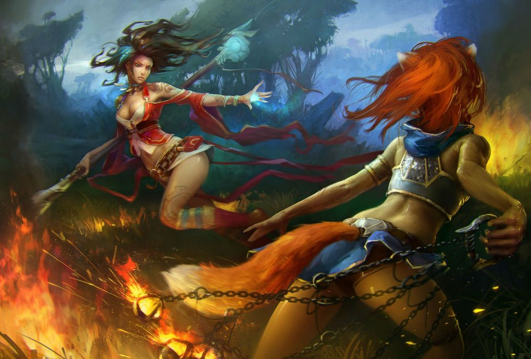 PRIME WORLD fantasy mmo rpg online action fighting adventure arena tower defense strategy 1primew warrior sci-fi poster girl girls babttle wallpaper