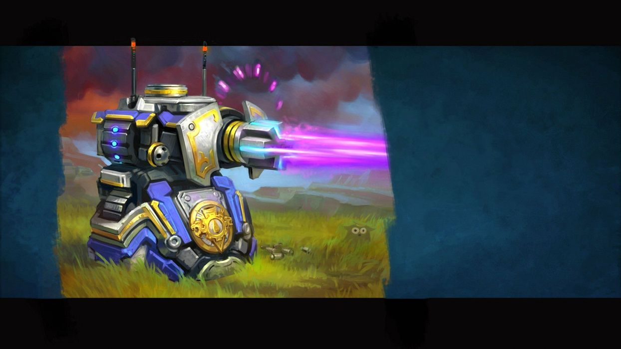PRIME WORLD fantasy mmo rpg online action fighting adventure arena tower defense strategy 1primew warrior sci-fi poster robot wallpaper