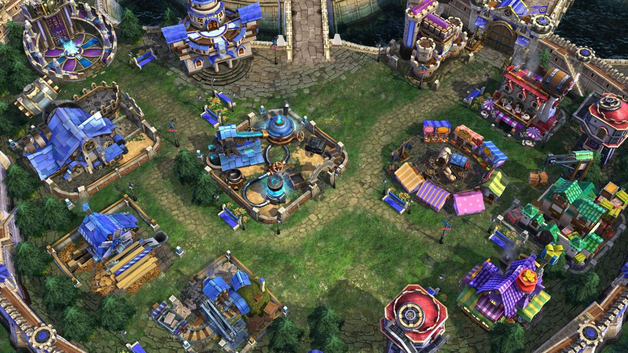 PRIME WORLD fantasy mmo rpg online action fighting adventure arena tower defense strategy 1primew warrior sci-fi poster detail wallpaper