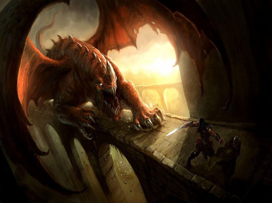 FORSAKEN WORLD Shenmo Online fantasy mmo rpg perfect 1fwso action fighting adventure dark age warrior vampire perfect detail dragon monster artwork poster wallpaper