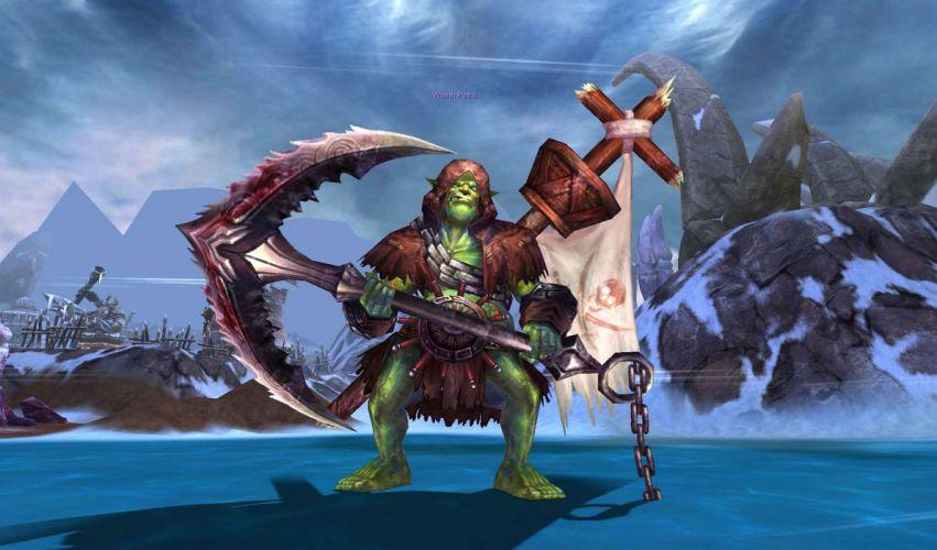 FORSAKEN WORLD Shenmo Online fantasy mmo rpg perfect 1fwso action fighting adventure dark age warrior vampire perfect ogre monster wallpaper