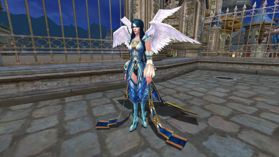 FORSAKEN WORLD Shenmo Online fantasy mmo rpg perfect 1fwso action fighting adventure dark age warrior vampire perfect detail girl girls angel fairy wallpaper