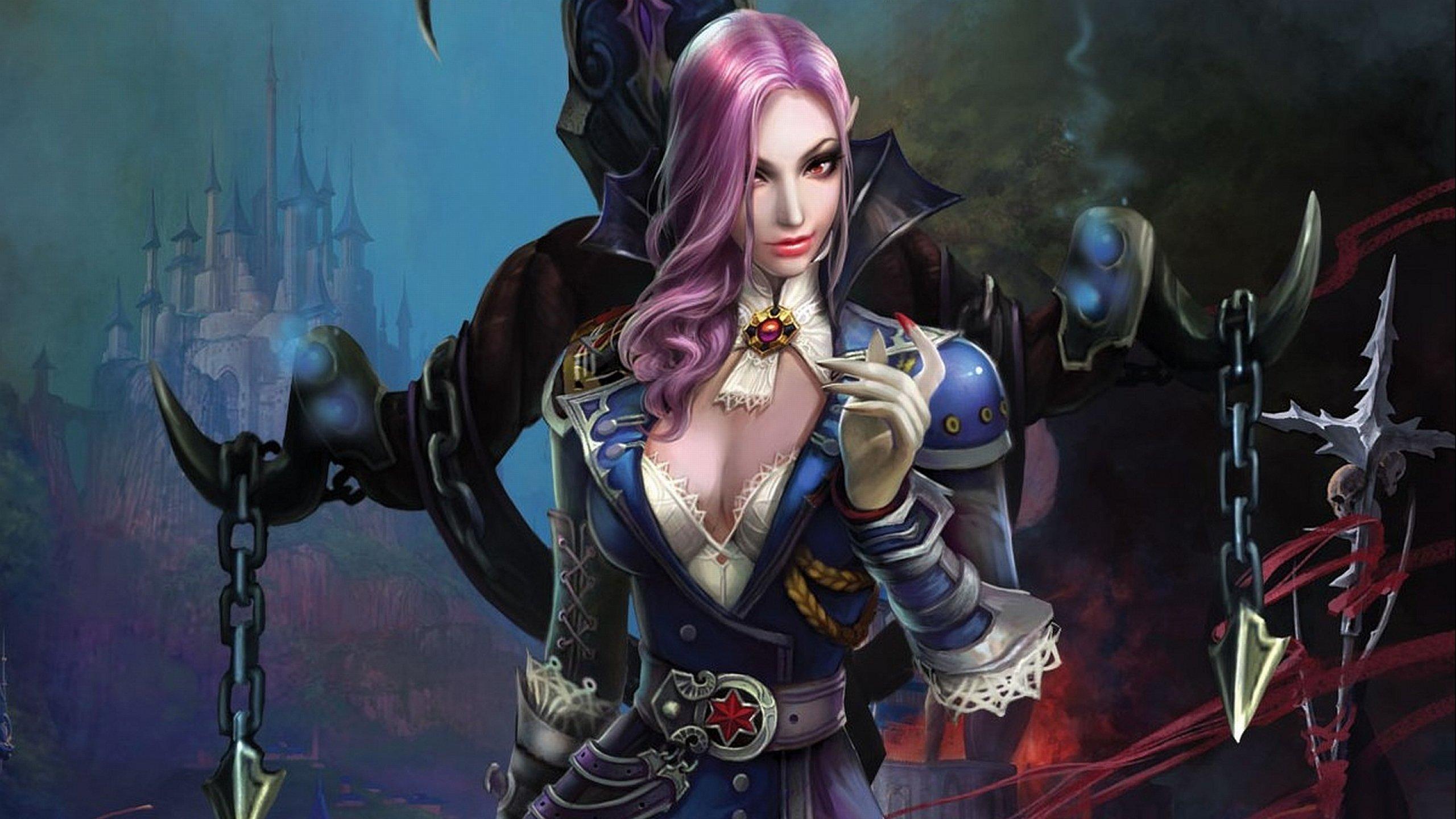 Vampire-warrior-girl nude pictures