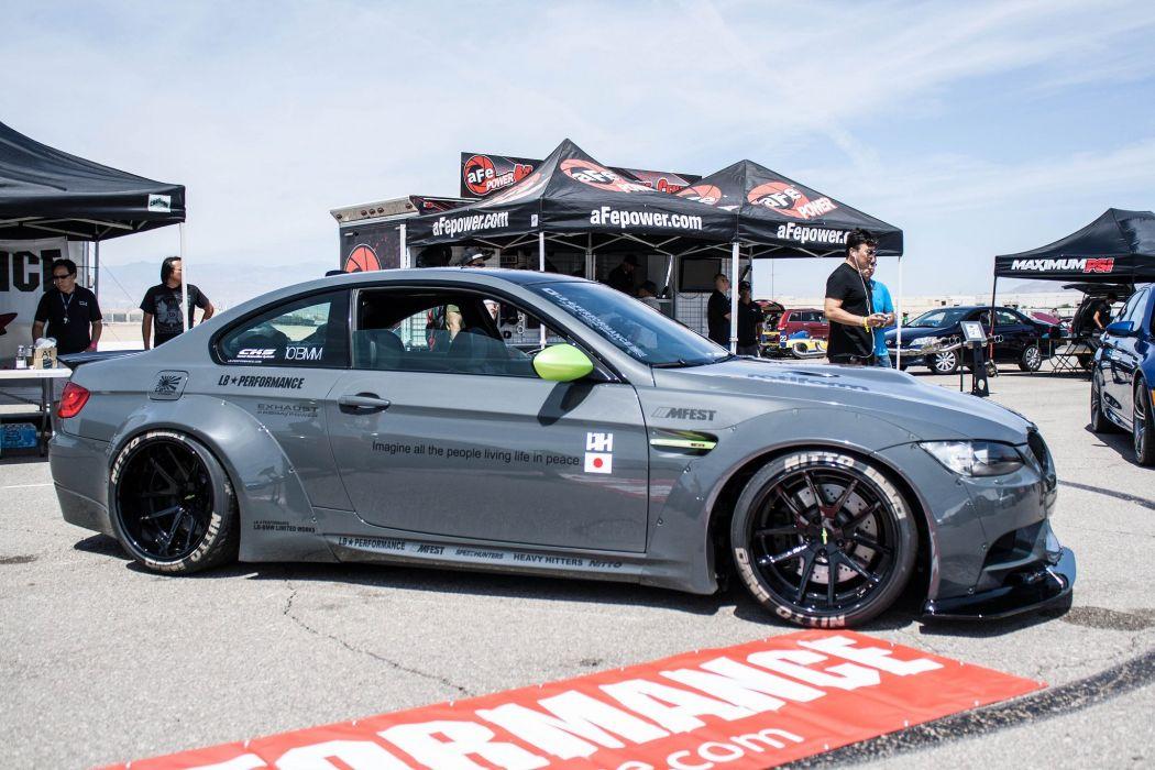 BMW tuning cars body kit wallpaper