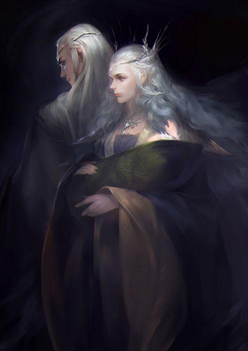 fantasy art hobbit lord of the rings legolas elf wallpaper