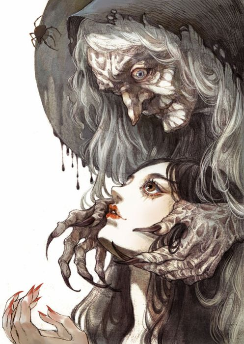 witch anime fantasy princess girl original wallpaper