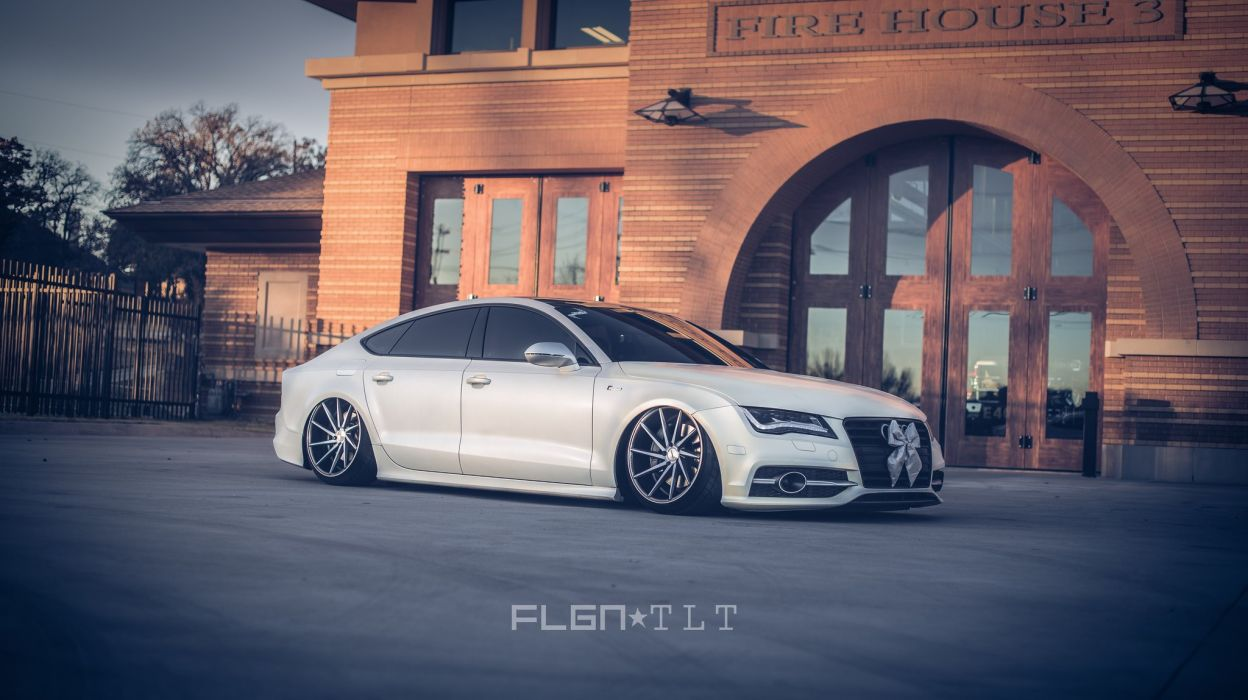 AUDI A 7 cars tuning wheels wallpaper