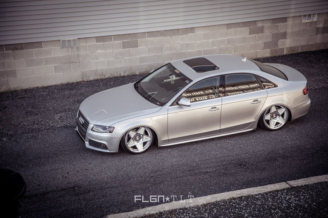audi a 4 tuning cars wallpaper
