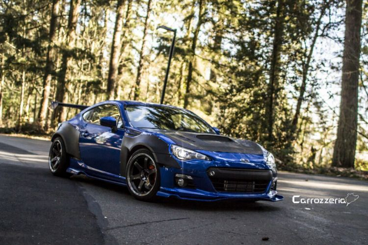 subaru BRZ tuning cars wallpaper