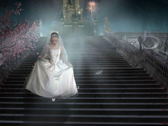 DISNEY DREAM Annie Leibovitz series fantasy cosplay fairy tale 1ddp advertisement dreams actor actress adventure photography portrait girl girls cinderella wallpaper