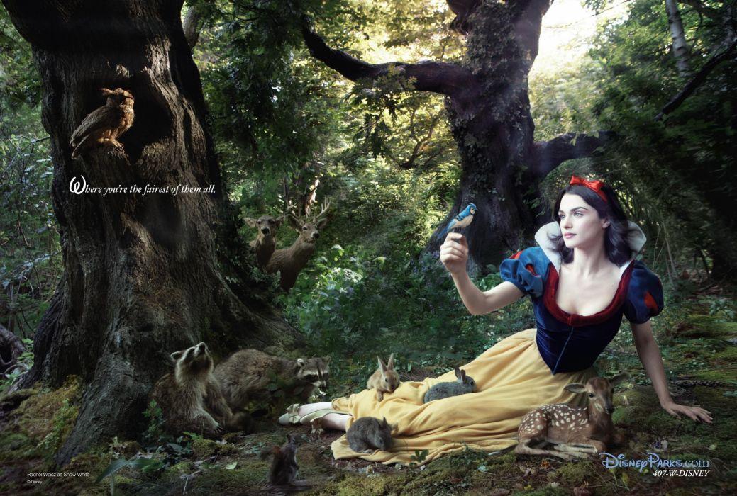 DISNEY DREAM Annie Leibovitz series fantasy cosplay fairy tale 1ddp advertisement dreams actor actress adventure photography portrait snow white wallpaper