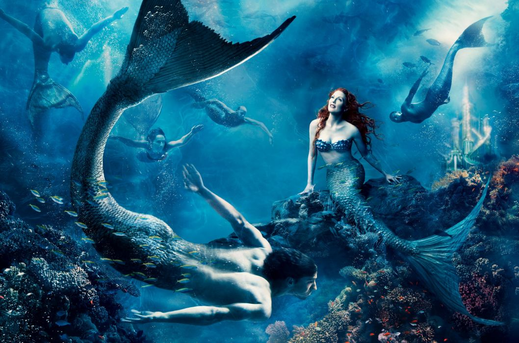 DISNEY DREAM Annie Leibovitz series fantasy cosplay fairy tale 1ddp advertisement dreams actor actress adventure photography portrait mermaid wallpaper