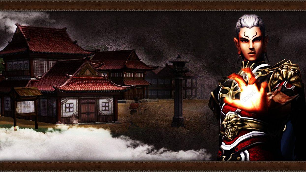 METIN 2 asian fantasy mmo rpg action fighting magic samurai warrior online 1metin ninja anime wallpaper