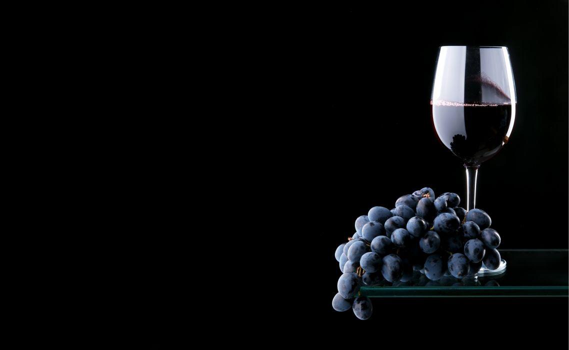 Drinks Wine Grapes Stemware Food wallpaper