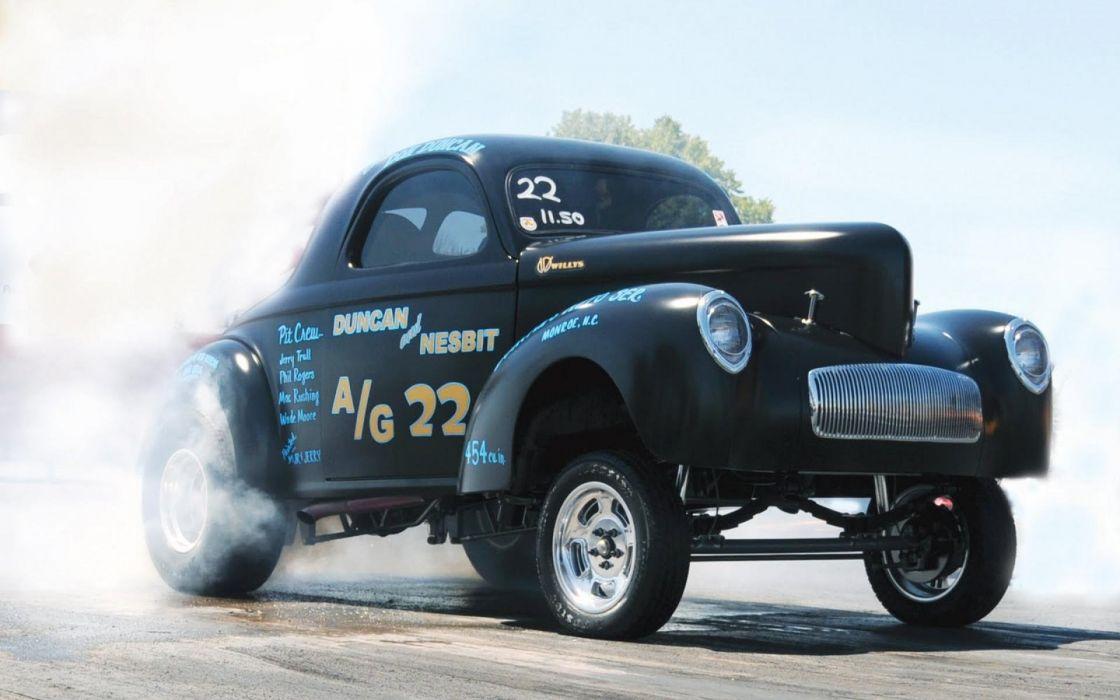 GASSER drag racing hot rod rods wallpaper