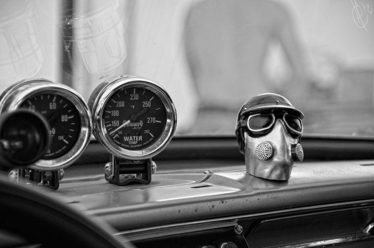 GASSER drag racing hot rod rods gas mask wallpaper