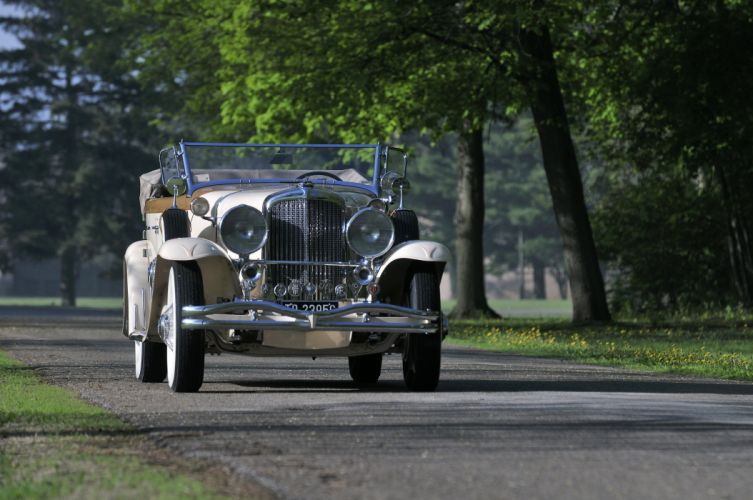 1930 Duesenberg ModelJ Torpedo Berline Convertible Body By Murphy Classic USA 4200x2790-27 wallpaper