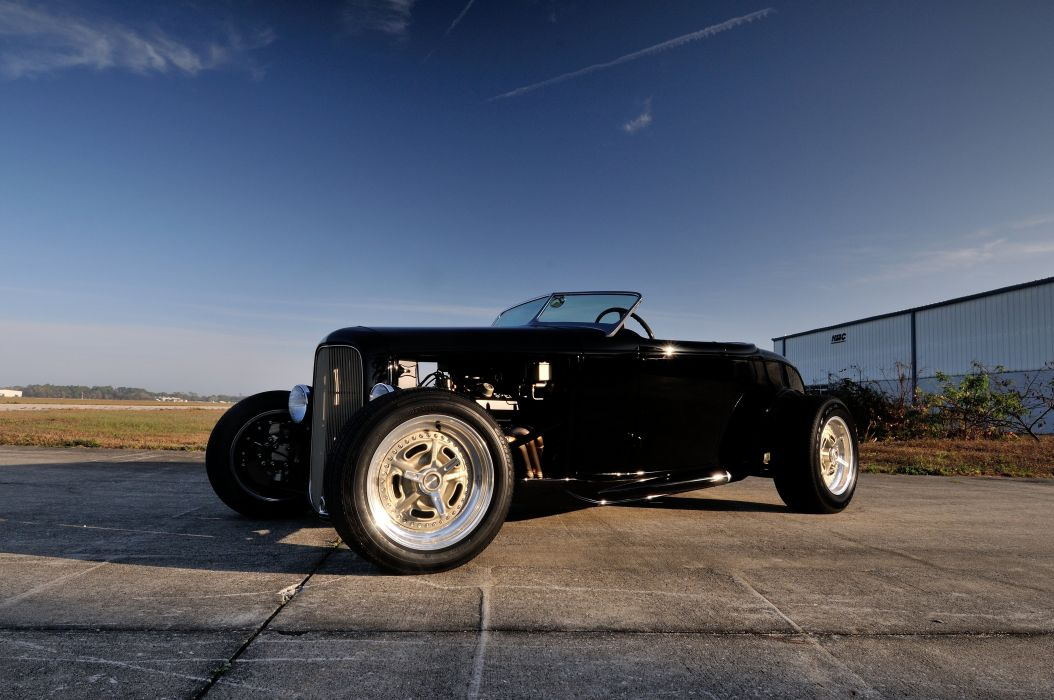 1932 Ford HiBoy Roadster Hotrod Hot Rod Streetrod Street USA 4200x2790-05 wallpaper