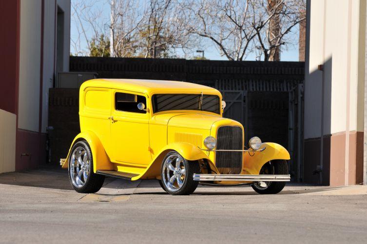1932 Ford Sedan Delivery Hotrod Hot Rod Streetrod Street USA 4200x2790-01 wallpaper