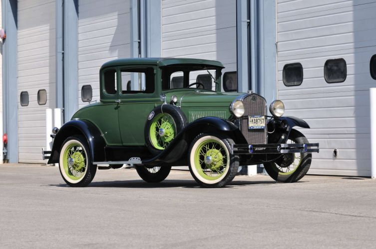1931 Ford ModelA Coupe Classic USA 4200x2790-01 wallpaper