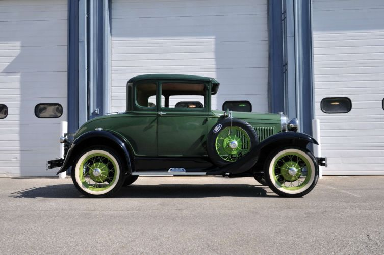 1931 Ford ModelA Coupe Classic USA 4200x2790-02 wallpaper