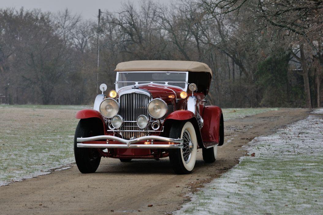 1932 Duesenberg ModelJ Phaeton Classic USA 4200x2790-01 wallpaper