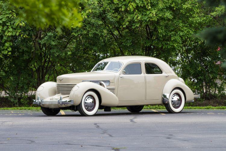 1937 Cord Model 850 Sedan Classic USA 4200x2800-01 wallpaper