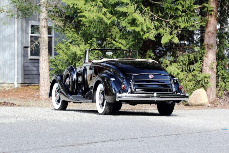 1936 Packard Eight Roadster Classic USA 4200x2800-03 wallpaper