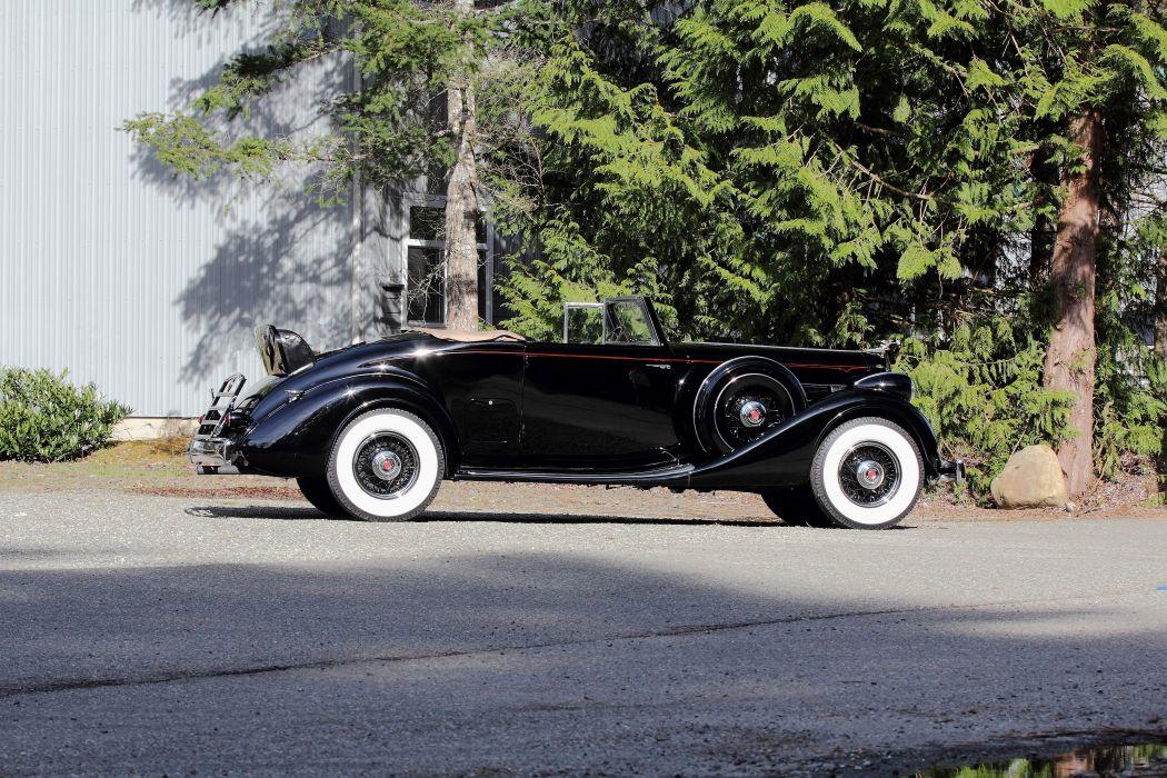 1936 Packard Eight Roadster Classic USA 4200x2800-02 wallpaper