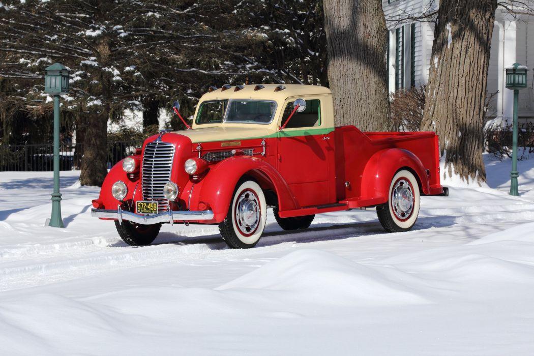 1937 Diamond Pickup Model 201 Classic USA 4200x2800-01 wallpaper