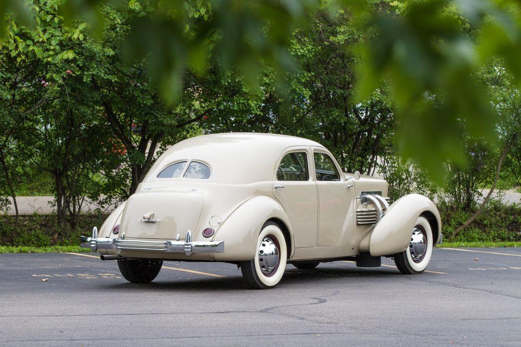 1937 Cord Model 850 Sedan Classic USA 4200x2800-06 wallpaper