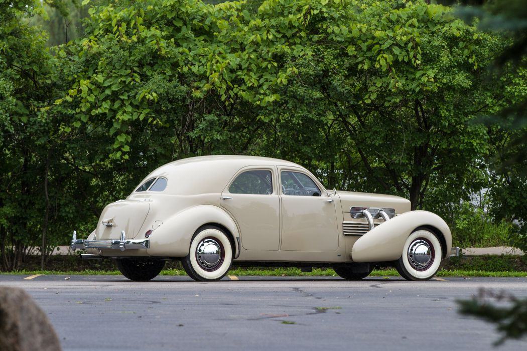 1937 Cord Model 850 Sedan Classic USA 4200x2800-05 wallpaper
