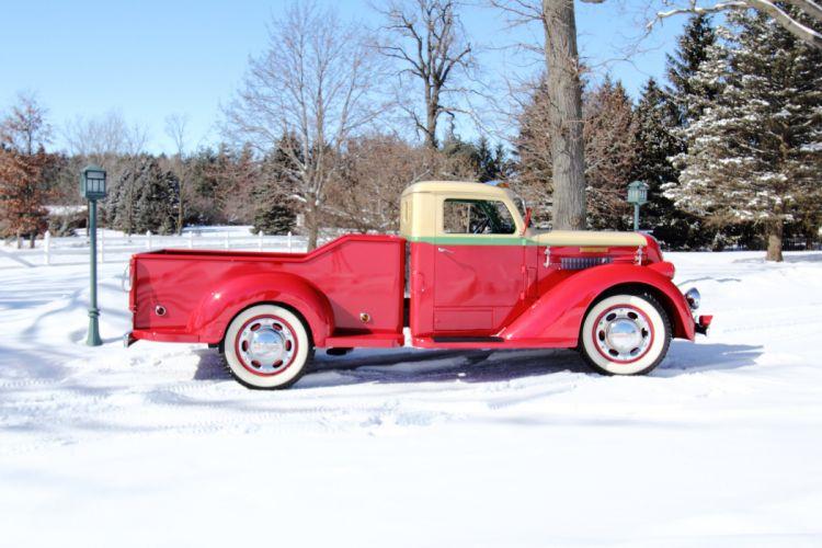 1937 Diamond Pickup Model 201 Classic USA 4200x2800-03 wallpaper
