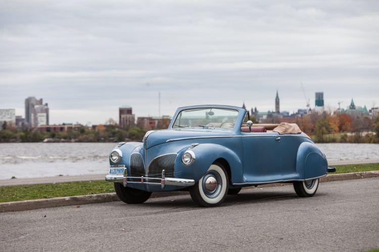 1941 Lincoln Zephyr Convertible Classic USA 4200x2800-01 wallpaper