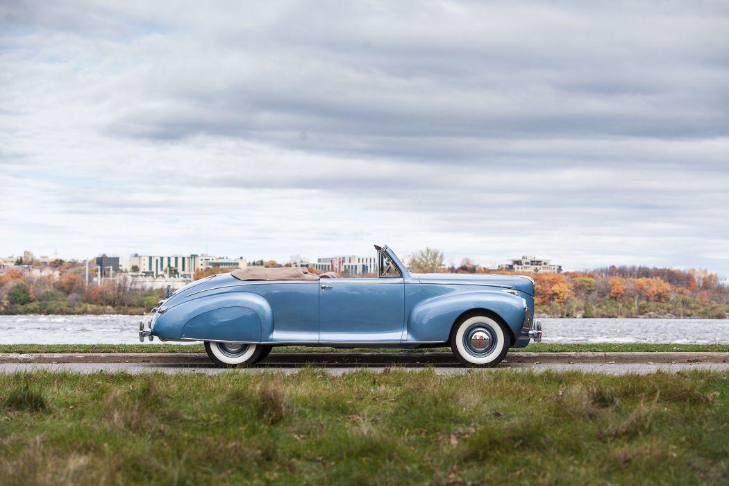 1941 Lincoln Zephyr Convertible Classic USA 4200x2800-02 wallpaper
