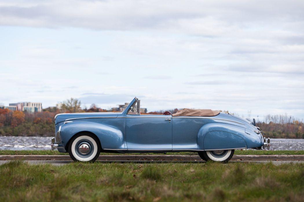 1941 Lincoln Zephyr Convertible Classic USA 4200x2800-03 wallpaper