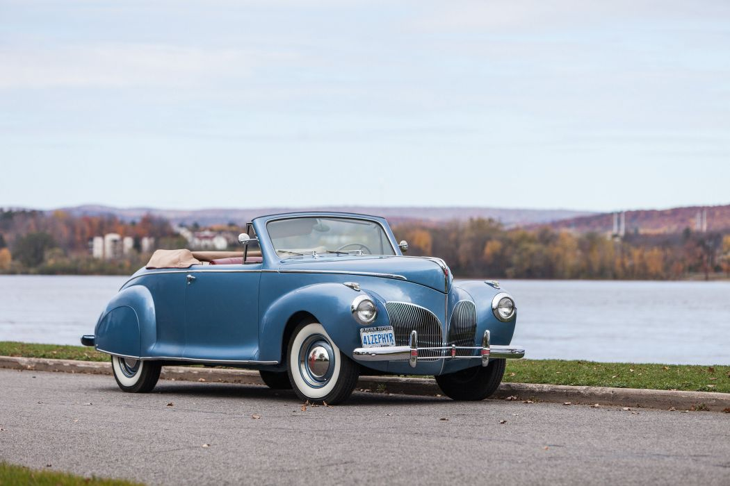 1941 Lincoln Zephyr Convertible Classic USA 4200x2800-06 wallpaper