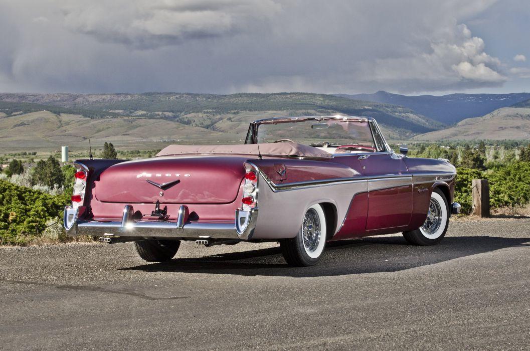 1956 DeSoto Fireflite Convertible Classic USA 4200x2780-04 wallpaper