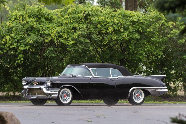 1957 Cadillac Eldorado Biarritz Convertible Classic USA 4200x2800-05 wallpaper