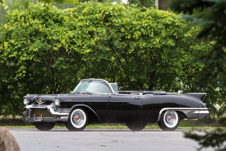 1957 Cadillac Eldorado Biarritz Convertible Classic USA 4200x2800-04 wallpaper