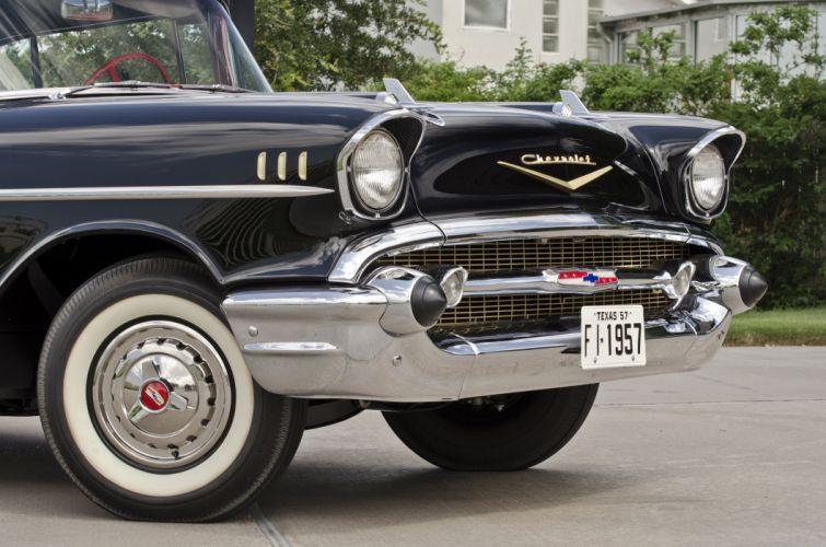 1957 Chevrolet BelAir Convertible Classic USA 4200x2780-04 wallpaper