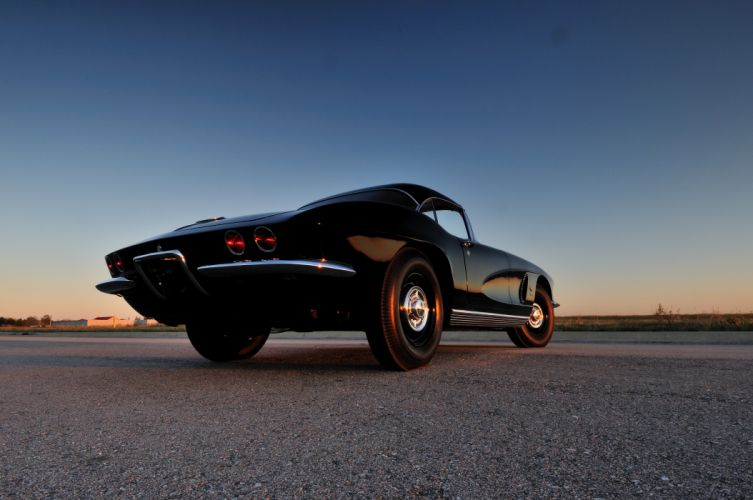 1962 Chevrolet Corvette Convertible Muscle Classic USA 4200x2790-03 wallpaper
