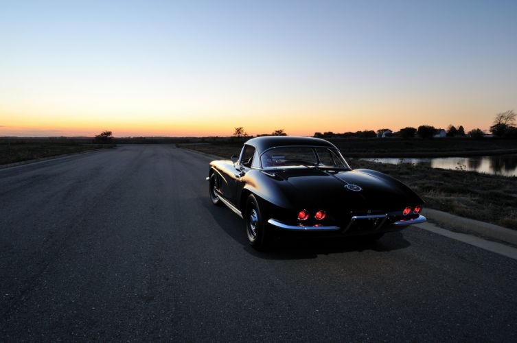 1962 Chevrolet Corvette Convertible Muscle Classic USA 4200x2790-08 wallpaper