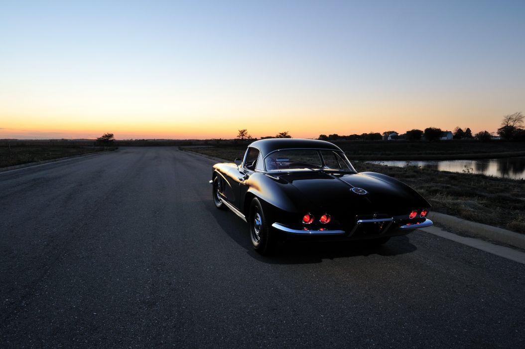 1962 Chevrolet Corvette Convertible Muscle Classic USA 4200x2790-08 wallpaper