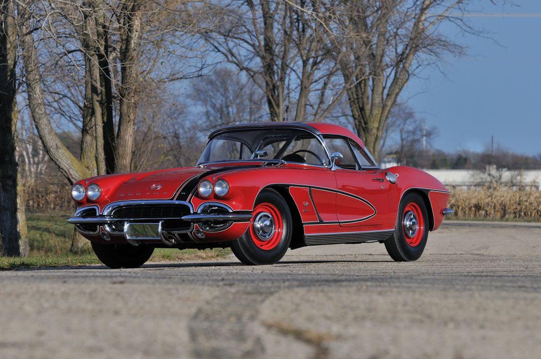 1962 Chevrolet Corvette Convertible Muscle Classic USA 4200x2790-10 wallpaper